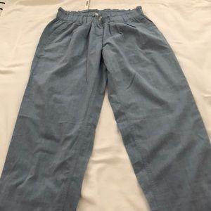 J.Crew Chambray Cinch Pants